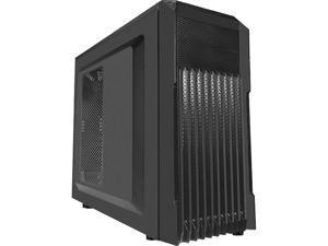 APEX A1 Black Steel ATX Mid Tower Computer Case