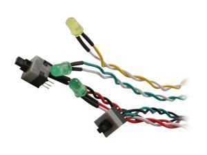 StarTech.com BEZELWRKIT Replacement Power Reset LED Wire Kit for ATX Case Front Bezel