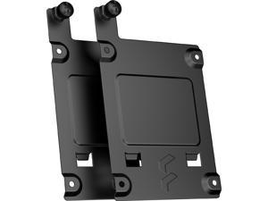 Fractal Design FD-A-BRKT-001 SSD Bracket Kit - Type-B for Define 7 Series and Compatible Fractal Design Cases - Black (2-pack)