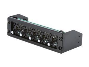 "Lamptron 5.25"" 5-channel fan controller, 60w/channel, High/Low/Off switch"