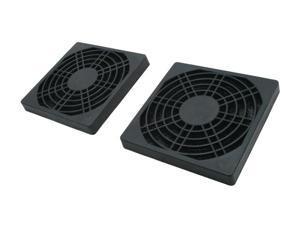 Masscool FFT-2P-80MM 80mm ABS plastic foam fan filter (2-pack)