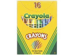 Classic Color Crayons, Tuck Box, 16 Colors 52-0016