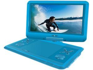 """Ematic EPD121BU 12.1"""" Portable DVD Player - Blue"""