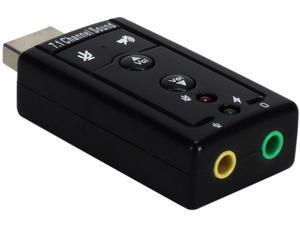 BlueDiamond 37371 USB Audio Adapter 7.1 for Headset
