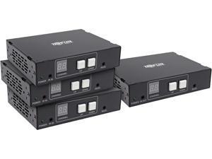 Tripp Lite B160-301-HDSI DVI/HDMI over Cat5/6 Splitter/Extender Kit - 1080p @ 60 Hz, RS-232, IR Control, 656 ft. (200 m), TAA
