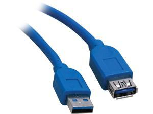 Tripp Lite U324-016 Blue USB 3.0 SuperSpeed Extension Cable - USB-A to USB-A, M/F, 16 ft.