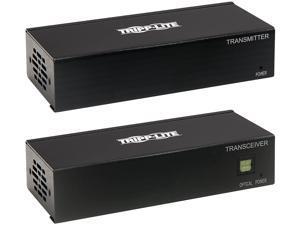 DisplayPort Over Cat6 Extender Kit Transmitter Receiver 4K PoC