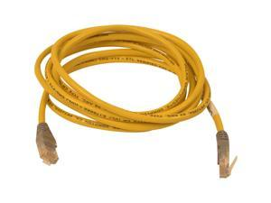 Belkin A3X126-25-YLW-M 25 ft. Cat 5E (Crossover) Yellow Network Cable