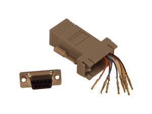 BELKIN F4C170 DB9F to RJ45F Modular Adapter