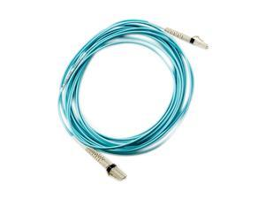 HP AJ836A 5m (16.4 ft.) Multi-mode OM3 LC/LC Optical Cable Male to Male
