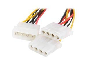 Rosewill RCW-300 8 in. Power Splitter Multi-Color Cable