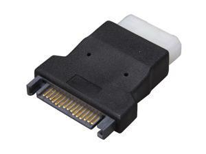 Rosewill RA-MOLEX-SATA - 4-Pin Female Molex to 15-Pin Male SATA Adapter