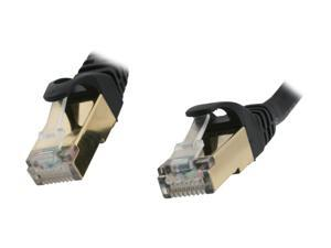 Rosewill RCW-3-CAT7-BK 3 ft. Cat 7 Black Shielded Twisted Pair (S/STP) Networking Cable