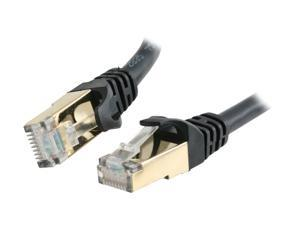 Rosewill RCW-100-CAT7-BK - 100-Foot Cat 7 Shielded Networking Cable - Black, Twisted Pair (S / STP)