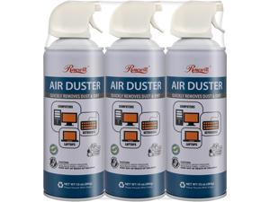 Rosewill Compressed Air Duster, 10 oz Gas Duster Cleaning Spray for Electronics (3-Pack) RCGD-18003