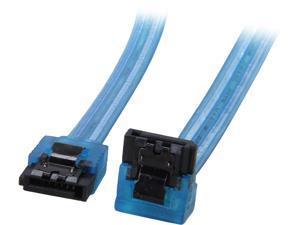 Rosewill SC-SATA3-18-LL-BL-90 1.5 ft. SATA III Cable