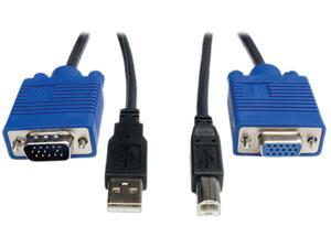 TRIPP LITE 6 ft. USB Cable Kit for KVM Switch B006-VU4-R P758-006
