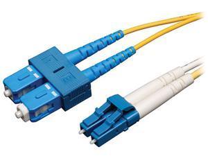 Tripp Lite Duplex Singlemode 8.3/125 Fiber Patch Cable (LC/SC), 3M (10-ft.)(N366-03M)