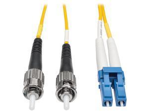 Tripp Lite Duplex Singlemode 8.3/125 Fiber Patch Cable (LC/ST), 1M 3-ft. (N368-01M)