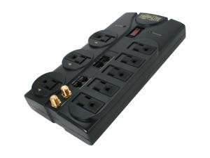 Tripp Lite TLP810NET 8 Outlets 3240 Joules 10' Cord with Tel/DSL/Coax Protect It! Surge Suppressor