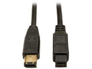 Tripp Lite F017-010 10 ft. IEEE-1394b FireWire 800 Gold Hi-Speed 9pin/6pin Cable Male to Male