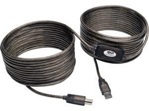 Tripp Lite U042-036 Silver High-Speed USB 2.0 A/B Active Device Cable