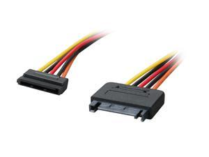 OKGEAR GC12AMF 1 ft. SATA 15pin power extension cable