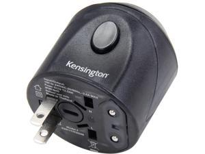 Kensington K33117 Black International Travel Plug Adapter