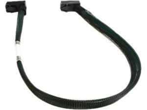 iStarUSA K-HD43RR-50 1.64 ft. HD miniSAS SFF-8643 Right Angle 50 cm Cable