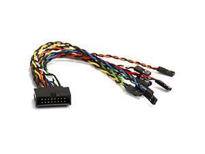 Supermicro 15cm 16-Pin Front Control Panel Split / Extension Cable (CBL-0084L)