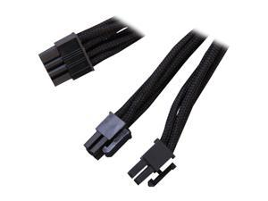 Silverstone PP06B-EPS55 1.8 ft. Sleeved EPS/ATX12V 8pin Cable
