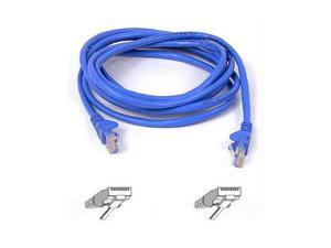 Belkin A3X126-15-BLU-S 15 ft. Cat 5E (Crossover) Blue Snagless Patch Cable