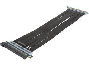 Thermaltake TT Premium PCI-E x16 3.0 Black Extender Riser Cable 300mm AC-045-CN1OTN-C1