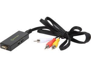 SYBA SY-ADA31064 HDMI to A/V RCA Composite Converter Cable Adapter