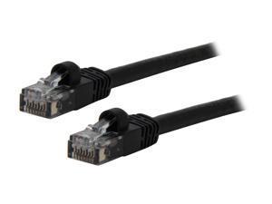 Link Depot C6M-10-BKB 10 ft. Cat 6 Black Network Cable