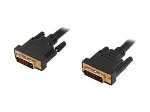Link Depot DVI-10-DD Black 2 x DVI 24-pin (Others Also Call 25-Pin or 24+1 Pin) Male Male to Male DVI-D Male to DVI-D Male Dual Link Cable