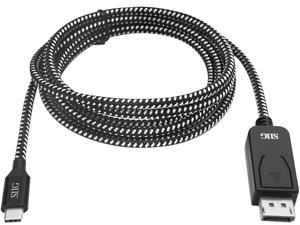 SIIG CB-TC0A12-S1 USB Type-C to DisplayPort Cable - 2M