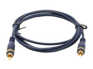 C2G 27231 Velocity Composite Video Cable, Blue (6 Feet, 1.82 Meters)