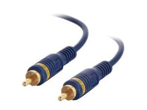 C2G 29104 Velocity Composite Video Cable, Blue (25 Feet, 7.62 Meters)