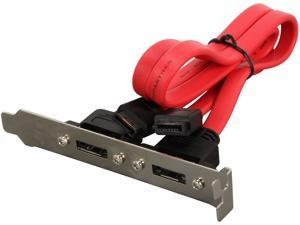 C2G 13423 SATA to eSATA Dual Port Adapter Cable