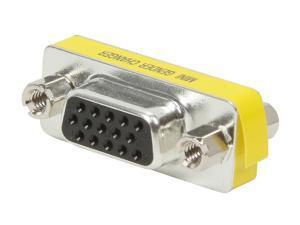 C2G 18962 VGA (HD15) F/F Mini Gender Changer (Coupler)