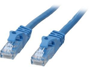 C2G 27140 Cat6 Cable - Snagless Unshielded Ethernet Network Patch Cable, Blue (1 Foot, 0.30 Meters)
