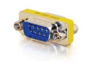 C2G 02782 DB9 M/M Serial RS232 Mini Gender Changer (Coupler)