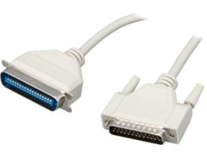 C2G Model 02803 25 ft. DB25 Male to Centronics 36 Male Parallel Printer Cable