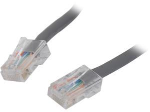 C2G 24959 Cat5e Cable - Non-Booted Unshielded Ethernet Network Patch Cable, Gray (1 Foot, 0.30 Meters)