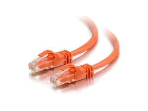 125 Feet, 38.1 Meters Orange Snagless Unshielded Ethernet Network Patch Cable C2G 27818 Cat6 Cable