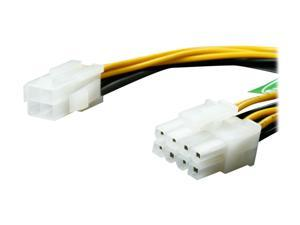 Athena Power CABLE-P4EPS8 7.75 in. P4-4pin to EPS-8pin Adapter Cable