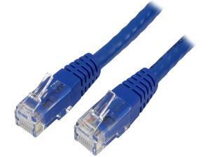 StarTech.com C6PATCH6BL 6 ft. Cat 6 Blue Molded UTP Patch Cable - ETL Verified
