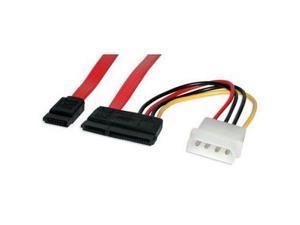 StarTech.com SATA18POW 1.5 ft. SATA Serial ATA Data and Power Combo Cable