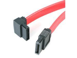 StarTech.com SATA18LA1 1.5 ft. Left Angle SATA Cable